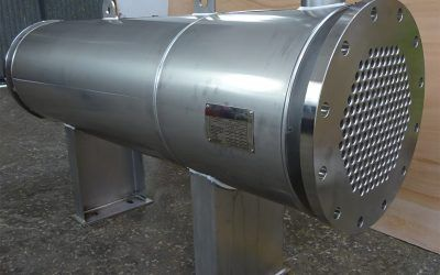 New supply of heat exchangers for biogas treatment